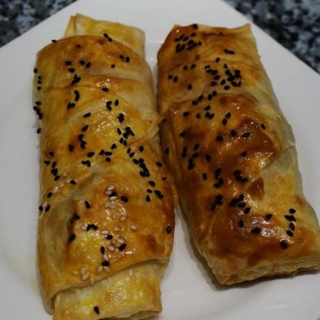 Peynirli Rulo Çıtır Börek